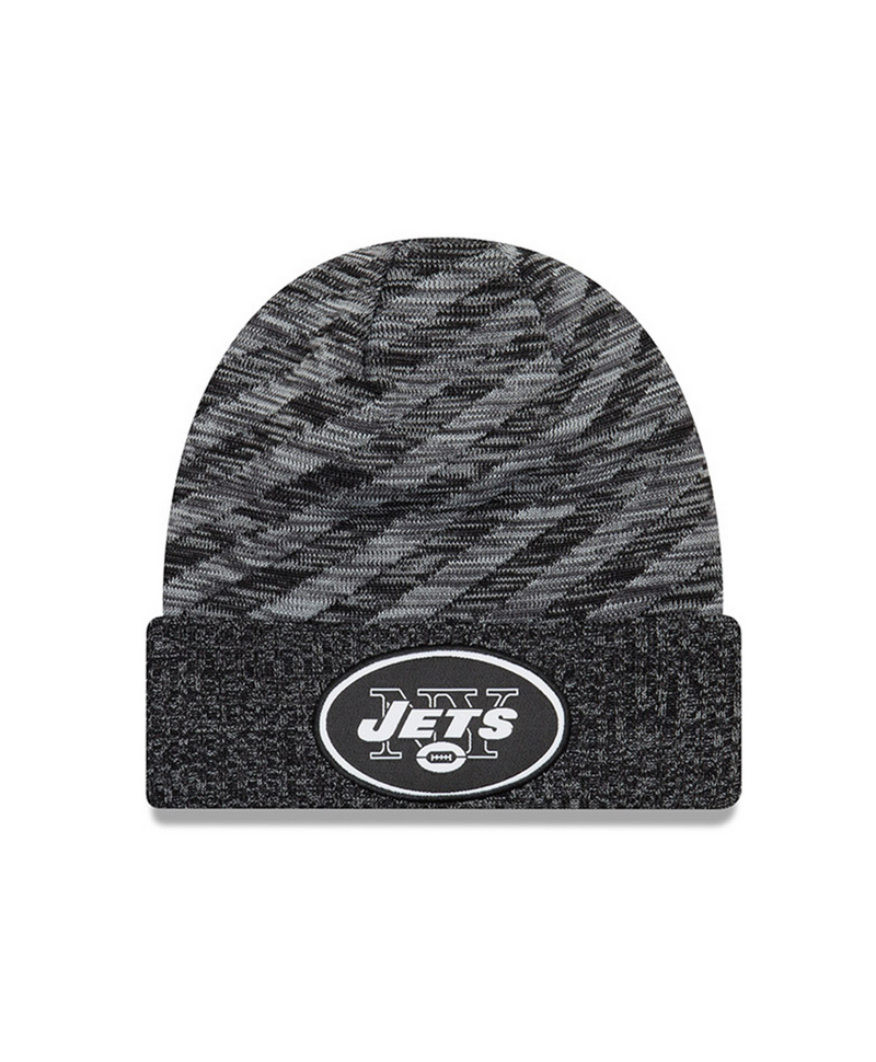 23692cb91 New Era NFL 2018 TD KNIT Black New York Jets