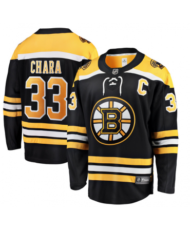 Zdeno Chara Breakaway player jersey black Boston Bruins