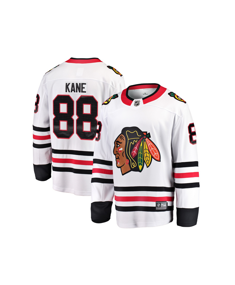 Patrick Kane Breakaway player jersey white Chicago Blackhawks