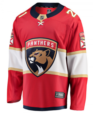 Vincent Trocheck Breakaway player jersey red Florida Panthers