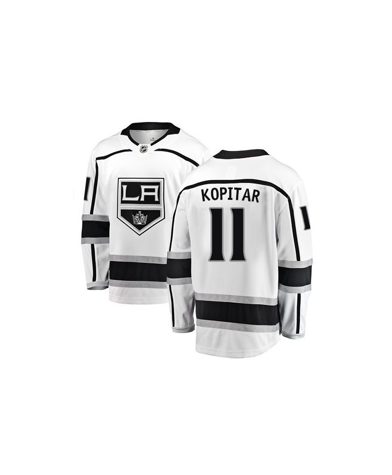 Anze Kopitar Breakaway player jersey white Los Angeles Kings