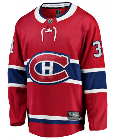 Carey Price Breakaway player jersey red Montreal Canadiens