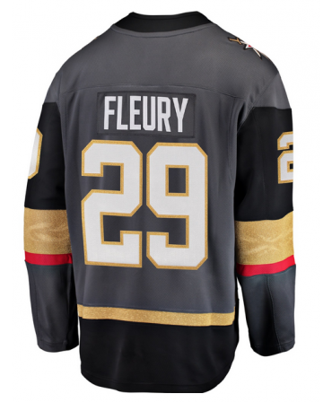 Marc-Andre Fleury Breakaway player jersey black Vegas Golden Knights