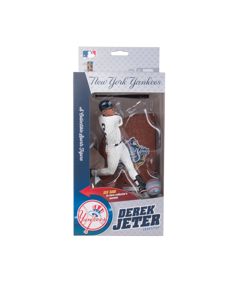 MCFARLANE 1999 WORLD SERIES DEREK JETER COLLECTOR LEVEL /3000