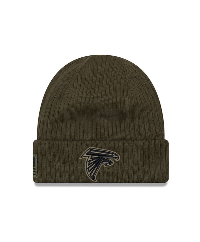 buy online 22af1 c230a New Era NFL 2018 Salute to service Knit Atlanta Falcons