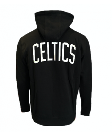 Sweat à capuche New Era NBA Boston Celtics - noir et blanc