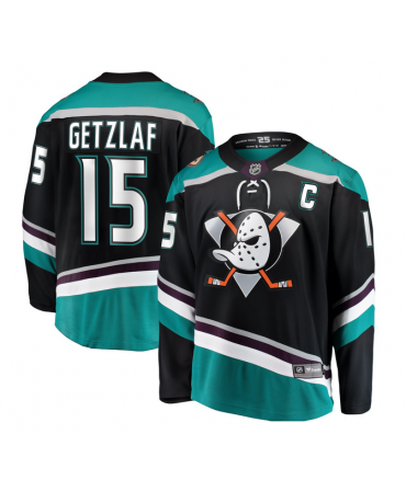 Ryan Getzlaf Breakaway player jersey alternate Anaheim Ducks