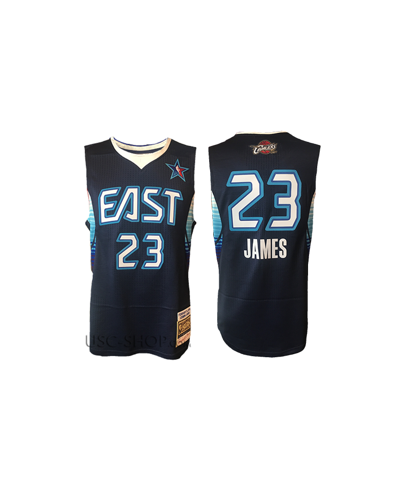 pretty nice beb21 0a965 Lebron James Authentic Jersey 2009 NBA All-star Game - Navy Blue