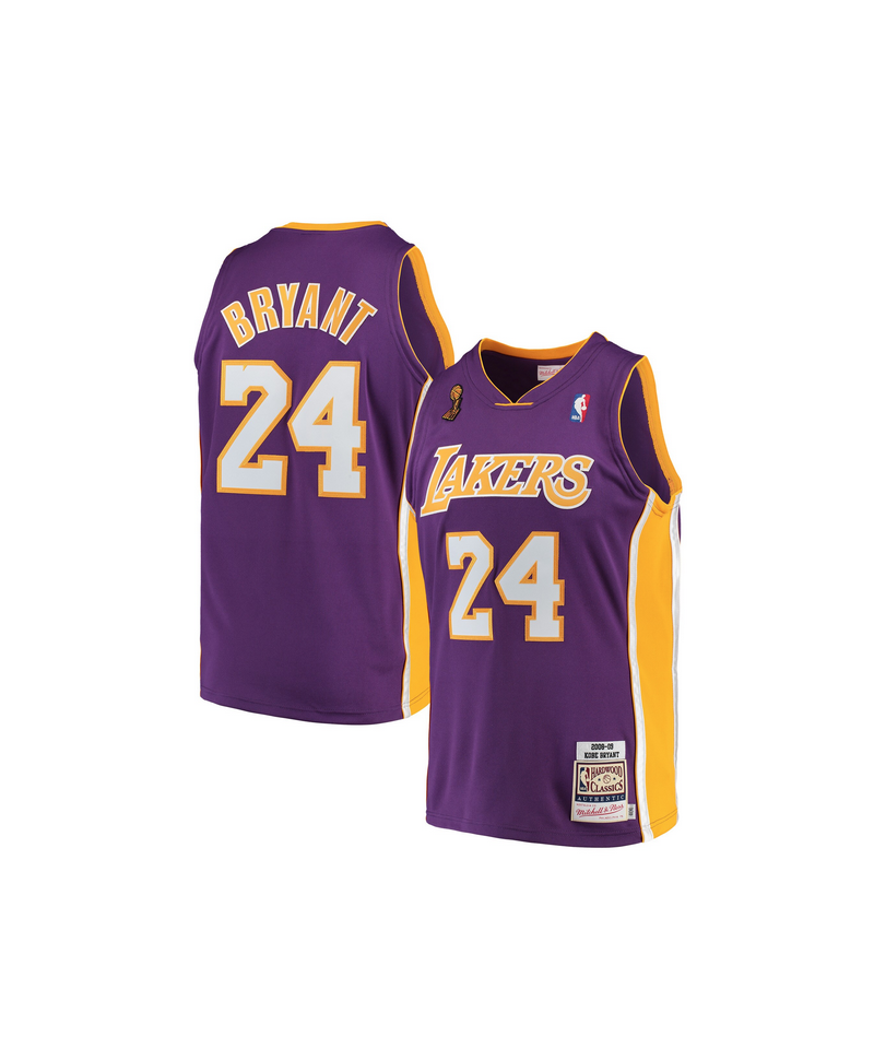 reputable site 7ab45 dd567 Kobe Bryant Authentic Road Finals Jersey 2008-09 Los Angeles Lakers