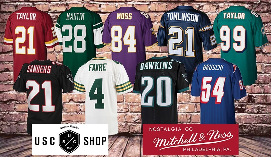 The NFL jerseys vintage version